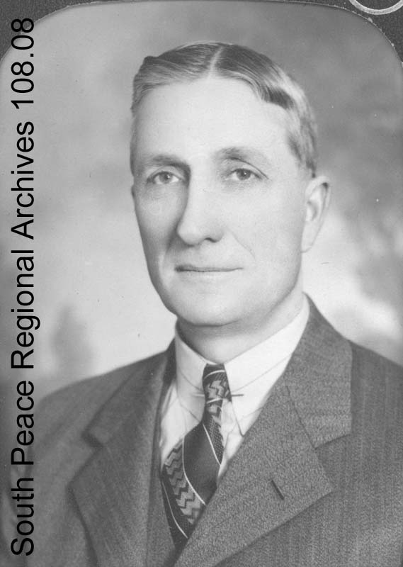 Portrait of I.V. Macklin when he was a federal candidate for the Co-operative Commonwealth Federation, ca. 1940
