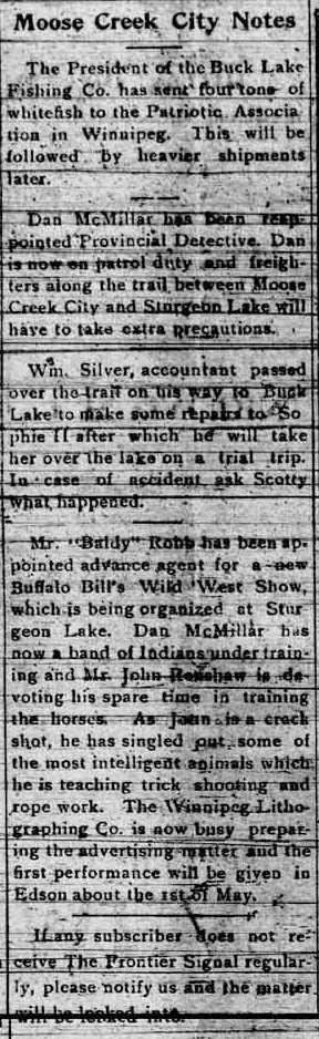 The Frontier Signal ~ January 28, 1915