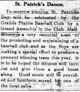 Grande Prairie Herald ~ March 16, 1915