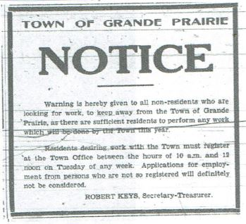 Grande Prairie Herald-Tribune ~ June 9, 1939