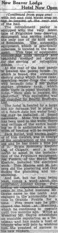 Grande Prairie Herald ~ October 11, 1935