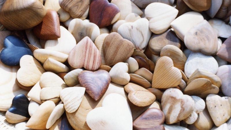 Wooden Valentines