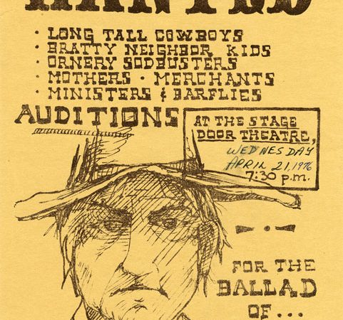 From the Vault Friday: Wanted Poster